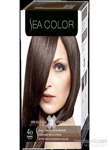 Sea Sea Color 2 Li Saç Boyası 4-0 Kahve